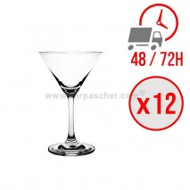 Verres à cocktail Martini cristal Bar 160ml / x12 unités / Olympia