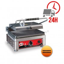 Contact Grill Rainuré Haut et Bas - 360x270mm