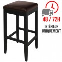 Tabouret / Assise similicuir